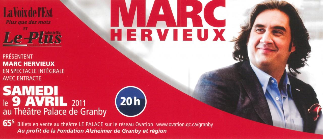 2011 - MARC HERVIEUX